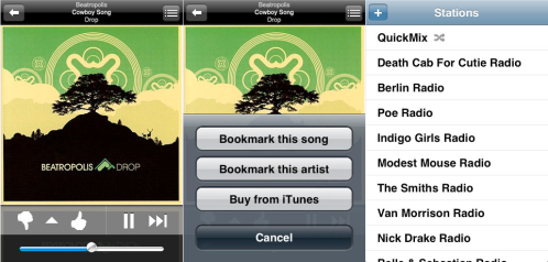 pandora radio iphone app